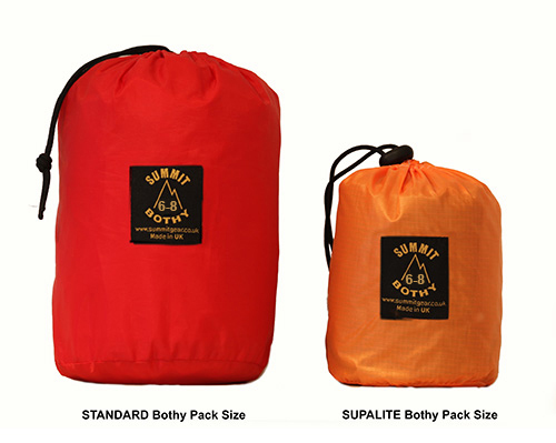 bothy bag 6 comparison