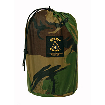 bothy bag shelter camo